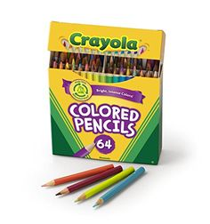 Crayola 50 Count Colored Pencils Whats Inside the Box 50th Box