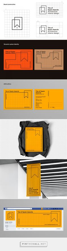 Tile of Spain Awards on Behance... - a grouped images picture - Pin Them All