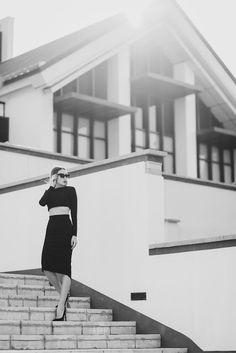 Фотосессия в Минске, места для фотосессии в Минске: Фотосессия бизнес леди в городе