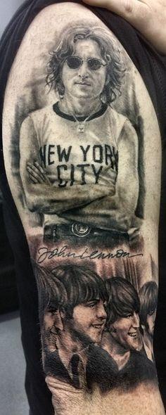 5-Beatles Tattoo