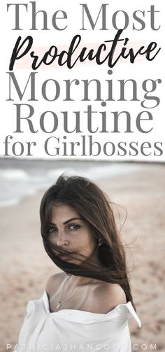 In this article, you'll learn the best morning routine for girlbosses and entrepreneurs that will boost your productivity! These morning routine ideas will help you be more productive through out the day and help you focus on your most important tasks. Morning Habits, Morning Routines, Motivation, Evening Routine, Successful Women, Successful Entrepreneurs, Productive Day, Get Your Life, Startup