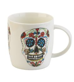 Mexican Sugar Mug | Your Tea: Paint the town paprika, Mexican Sugar is here. Life is taken by the horns and lived with whom ever clasps their daring hands around this mug. Made from durable new bone China and luckily for you, dish washer friendly. SHOP http://america.yourtea.com/products/mexican-sugar-mug?_ga=1.60547181.1509873513.1439317348