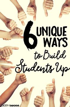 Check out these unique & positive ways to celebrate your students in the classroom!