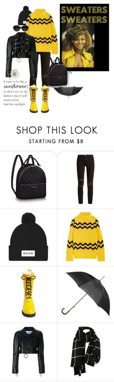 """When life gives you rainy days,wear cute boots and jump in puddles!"" by lheijl ❤ liked on Polyvore featuring Current/Elliott, Joseph, Ilse Jacobsen Hornbaek, Carla Zampatti, Totes and Off-White"