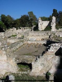 Roman Ruins in Nice France