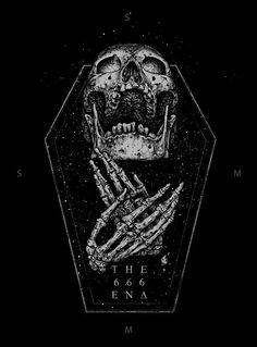 40 Magnificently Morbid Art & Designs Featuring Skulls - Real Time - Diet, Exercise, Fitness, Finance You for Healthy articles ideas Arte Horror, Horror Art, Totenkopf Tattoos, Skeleton Art, Skull Wallpaper, Occult Art, Skull And Bones, Gothic Art, Skull Art
