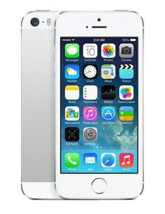 iPhone White 5S 16 GB by Apple. White iPhone 5S, come with ouch ID fingerprint identity sensor to unlocks your phone. 8-megapixel iSight camera, you can make a slo-mo video, with 8 Mp iSight Camera makes it easy to get a super great shot. http://www.zocko.com/z/JIYE8