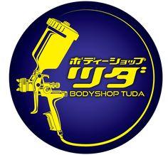 BODYSHOP TUDA Tattoo Lettering Styles, Monkey Tattoos, Paint Shirts, Bold Logo, Anime Neko, Logo Concept, Cool Cartoons, Logo Inspiration, Custom Cars