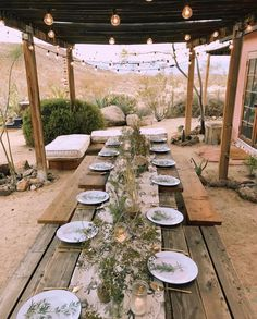 desert dinner party of our dreams