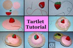 Felt Tartlet pie tutorial