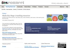 TES Connect Primary Maths