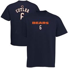 Get this Chicago Bears Jay Cutler Preschool Primary Name and Number T-Shirt at ChicagoTeamStore.com