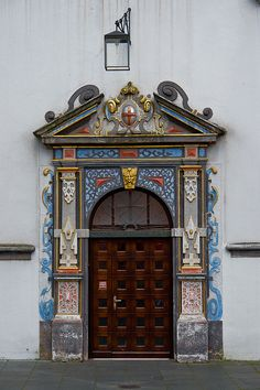 Colourful Door, Trier, Germany.
