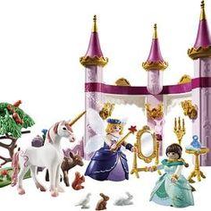playmobil – ToyRoo - Magical World of Toys! Fairytale Castle, Fairy Godmother, Forest Animals, Fairy Tales, Christmas Ornaments, Toys, Holiday Decor, Cute, Playmobil