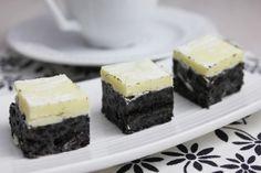 Bouchées aux Oréos & couche de chocolat blanc