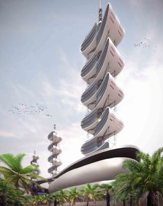 Infinity Tower project designed by Arch. Richard Moreta Castillo