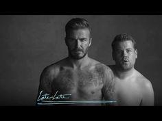 Underwear #David Beckham #thelatelateshow