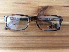 a4ef916c8482 Persol Eyeglasses PO 3005v 978 Brown Grey Size 51-18-140 for sale online