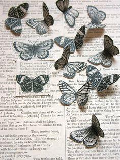 Poppytalk: DIY: Butterfly Badge