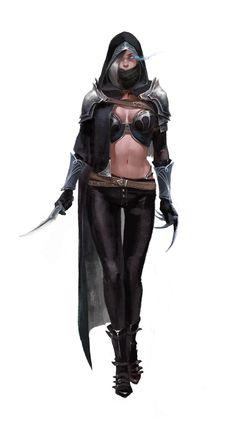 assassin, yoorim ha / Hinn on ArtStation at https://www.artstation.com/artwork/blr5n