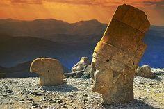 Turquie, le mont Nemrut