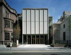 Extension to Morgan Library, NY / Renzo Piano