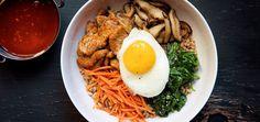Spicy Korean Pork Farro Bowl