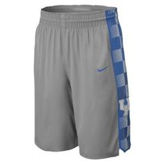 Nike College Authentic Hyper Elite Game Short - Men's - Basketball - Fan Gear - Kentucky - Dark Steel Grey
