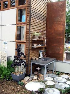 Playhouse Designs and Ideas: Big Dreams for Small Houses: The Wee Potting Nook