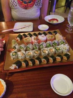 sushi in key west at ambrosia, yummy!