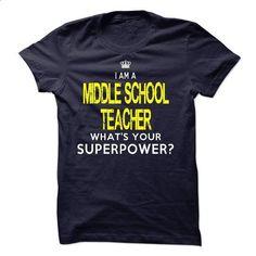 Im A/An MIDDLE SCHOOL TEACHER - #sweatshirt pattern #sweater weather. GET YOURS => https://www.sunfrog.com/LifeStyle/Im-AAn-MIDDLE-SCHOOL-TEACHER-32729221-Guys.html?68278