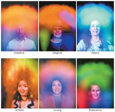 How to See an Aura (Paranormal), All living things that need oxygen to survive have an aura. They generate a large magnetic energy field that can be Auras, How To See Aura, Aura Colors Meaning, Aura Reading, Color Meanings, Psychic Development, Spiritual Health, Mind Body Soul, Yoga Meditation