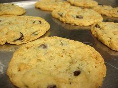 Chocolate Chip Rice Krispie cookies.