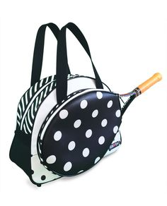 Slam Glam - Idawen Bocce LUBN Tennis Bag, $270.00 (http://www.slamglam.com/idawen-bocce-lubn-tennis-bag/) Super cool and fun!
