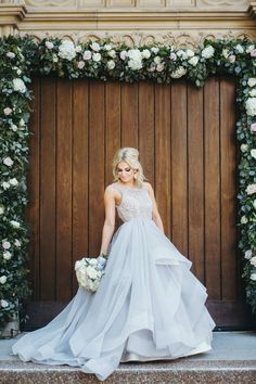 beautiful, dramatic gown