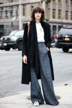 Le top Mica Arganaraz à la Fashion Week de New York