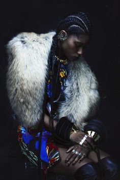 Miyanda Jacobs-Newton by Bryan Huynh for SSENSE F/W 2012-13