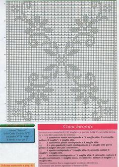 Crochet Table Runner Pattern, Crochet Edging Patterns, Filet Crochet Charts, Crochet Diagram, Crochet Stitches, Crochet Curtains, Crochet Doilies, Crochet Lace, Free Crochet