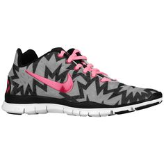 b193d639180220 Nike Free TR Fit 3 Print Strata Grey Anthracite Black Sport Fuchsia Shoes  2014