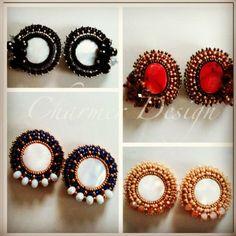 Elegantes!!! #handmade #earrings #musthave