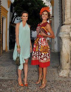 Naty Abascal y Laura Vecino