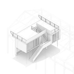 Stereo Architektur, Lukas Schaffhuser · The Wooden Structure at Launchlabs · Divisare