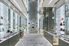 Dior Flagship Store by Peter Marino, Beijing - China.  Visit City Lighting Products! https://www.linkedin.com/company/city-lighting-products