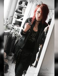 Get this look: http://lb.nu/look/8644063  More looks by Kvicka Ajvi: http://lb.nu/kvicka  Items in this look:  Error Fashion (My Own) The Gazett E Top, Punk Rave Visual Kei Shirt, Punkrave Visual Kei Skirt, Clockhouse Black Pants, Secondhand Store Black Cardigan, Ebay Punk Chocker, The Gazette Concert In Munich ^.^ Uruha's Pick   #punk #street #visual kei #harajuku #visualkei #gazette #thegazette #jrock