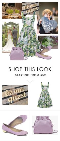 """Aunt on the Groom's Side"" by christined1960 ❤ liked on Polyvore featuring Needle & Thread, J.Crew and Clare V."