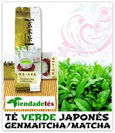 ¡¡Té verde japonés Genmaitcha-Matcha (té verde Sencha, arroz inflado y té verde matcha) directamente desde Japón y envasado en papel especial disponible ya en www.tiendadetes.com!! #Té #TéVerde #Tea #TeaTime #GreenTea #TéVerdeJaponés #TéGenmaitcha #TéMatcha #TéVerdeSencha #Japón