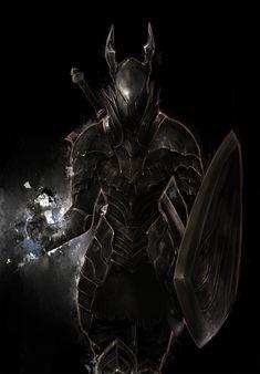 Dark Souls game art byCo2.  http://mangadrawing.net/Image/Dark-Souls/27730