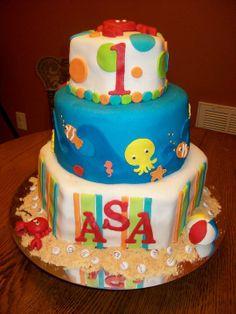 sea animal cake MY CAKES Pinterest Animal cakes and Cake