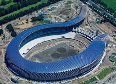 """AMAZING! The solar-powered 'Dragon' stadium in Kaohsiung, Taiwan, is the world's first stadium which gets all its power needs from the sun. *´¨) ¸.•´¸.•*´¨) ¸.•*¨) (¸.•´ (¸.•` ¤ The Unknown; but not hidden. ¤•""""*~♥~♥~"""