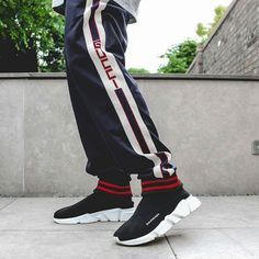Gucci technical pants balenciaga speed trainers. All available on our site now!